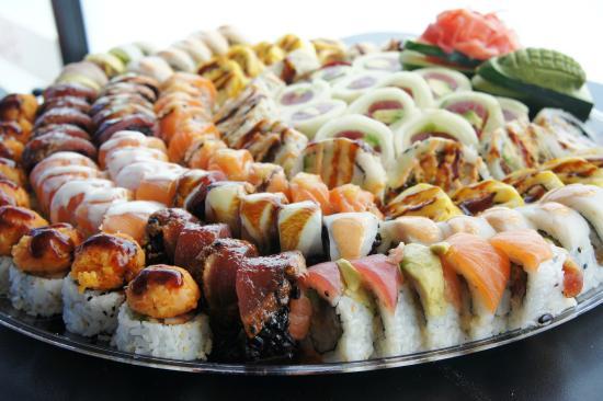 Yayoi Platter Picture Of Hamachi Sushi Bar Chicago Tripadvisor
