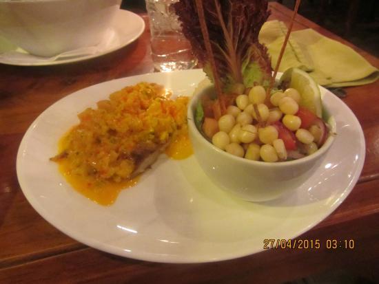 The Magic Bean : Fischgericht (Tilapia)