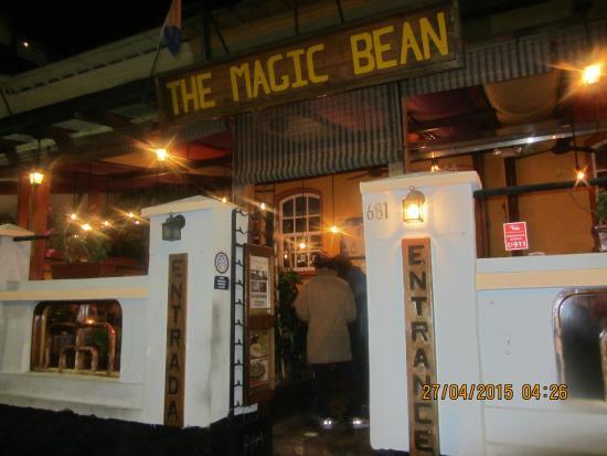 The Magic Bean: Aussenansicht