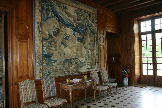 Chateau d'Eporce: Hall d'accueil