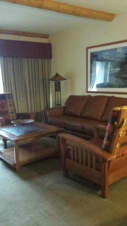Sheraton Lakeside Terrace Villas at Mountain Vista: Living room