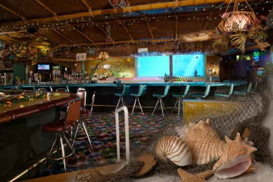 Interior of the Sip 'n Dip Lounge
