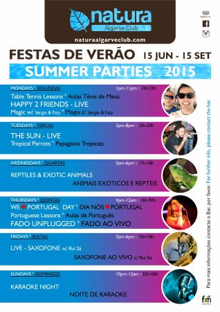 Natura Algarve Club: Summer Programme
