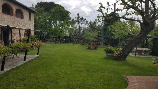 Bed & Breakfast Le Caselle: Heavenly garden