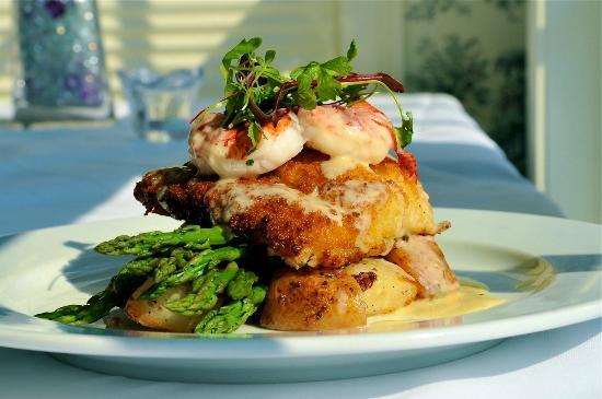 Yarmouth Port, MA: Panko Haddock with Shrimp
