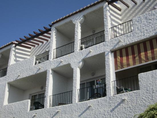Rio Marinas Apartamentos: L'appartement où nous logions (avec vue mer)