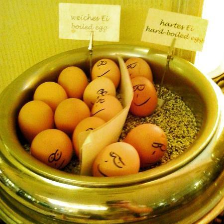 Ringhotel Munte am Stadtwald : eggs at breakfast