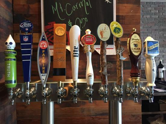 Beer taps - Picture of The Brick House Bar and Grill, Sharonville ...