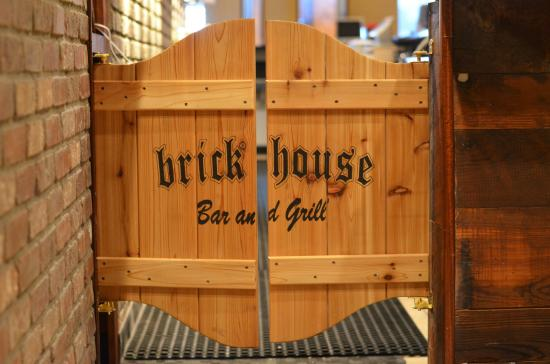 Cool bar door - Picture of The Brick House Bar and Grill ...
