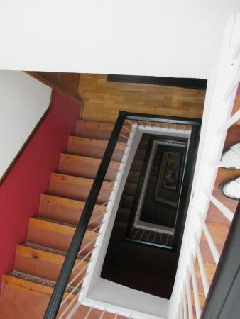 Hotel Liberty Sitges: stairs