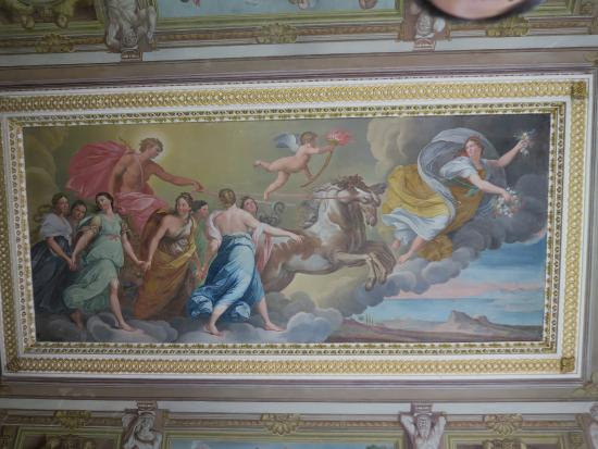 Rievaulx Terrace and Temples : Temple Fresco