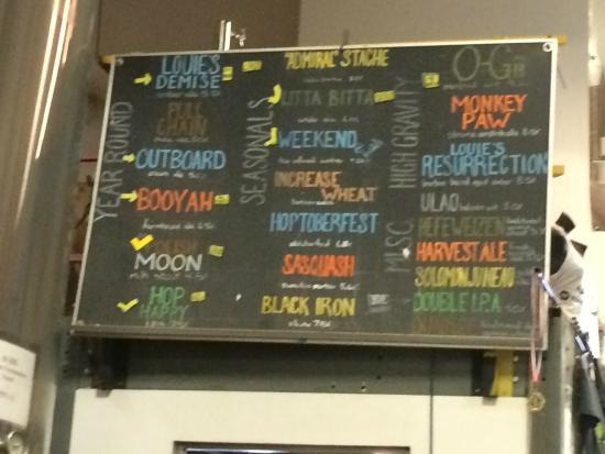 Milwaukee Brewing Co.: Good variety
