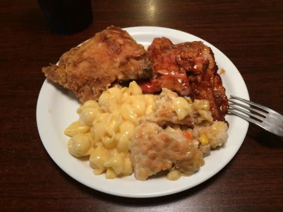 Fried Chicken Fair Pork Rib Bbq Tough Mac N Cheese