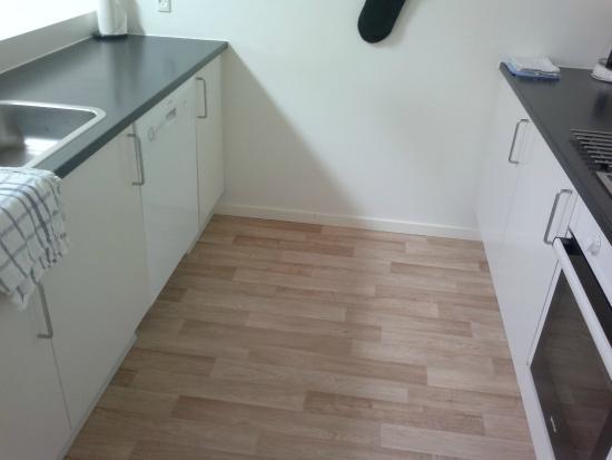 Vorbasse, เดนมาร์ก: Kitchen