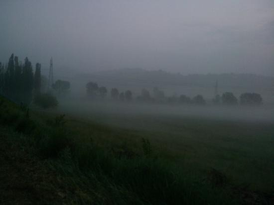 Agriturismo La Mussia: la brume visible pour les lève tôt