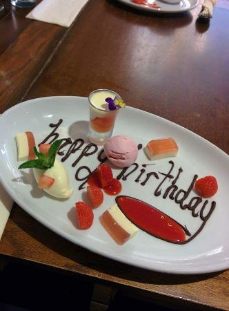 The Mill at Worston: What a great birthday at The Mill
