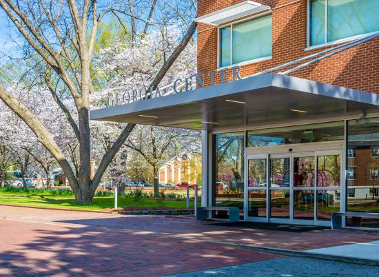 University of Georgia Center for Continuing Education & Hotel : Hotel Front Entrance