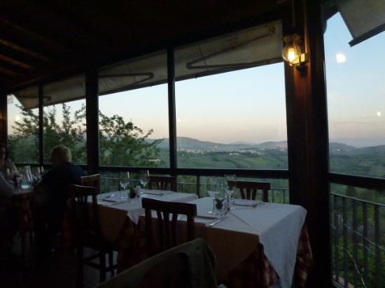 Trattoria I Ricchi: view