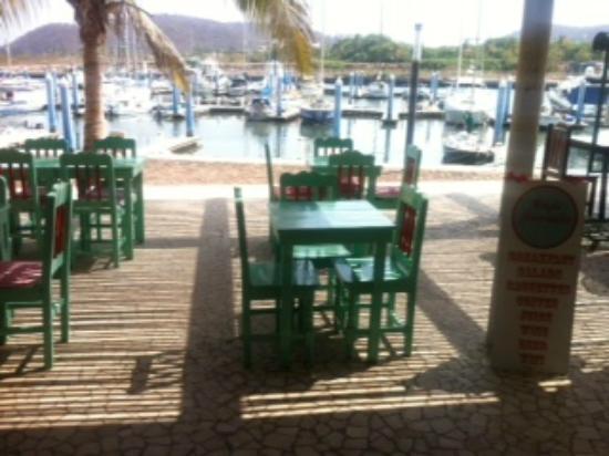 Cafe Juanita: Marina View