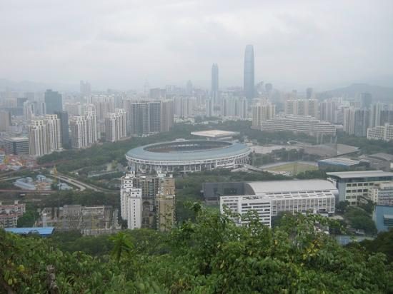 Bijiashan Park : View from top