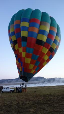 Drakensberg Ballooning: 5th May - Ready for Ascent