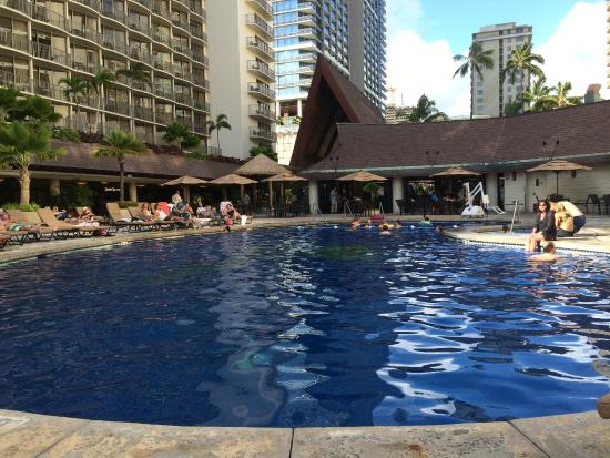 Pool Area Picture Of Outrigger Reef Waikiki Beach Resort