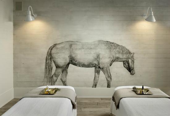 Φόρεστβιλ, Καλιφόρνια: Horse mural, Spa