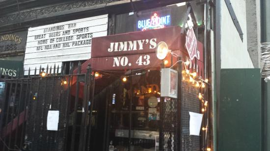 Jimmy's No 43: A view from the street