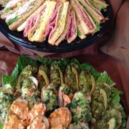 Nogales, AZ: Sandwich Platter/Baked Potato Platter