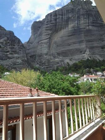 Hotel Aeolic Star: Вид с балкона