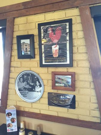 Wall decor Pizza Hut 500 S. Atlantic Daytona Beach FL - Picture of ...