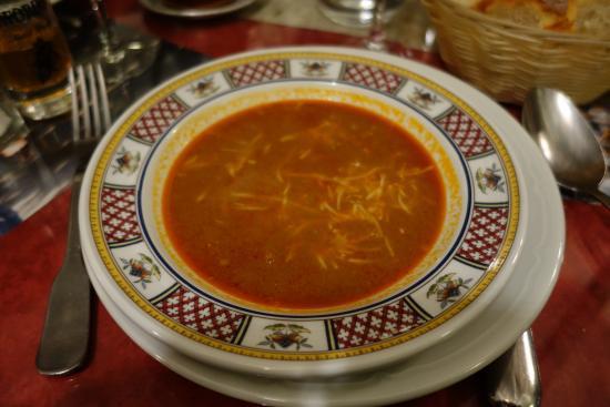 Restaurant Nicolas : Soupe de poisson un délice