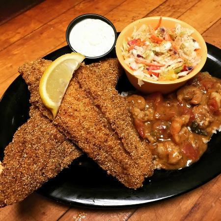 Joe's OK Bayou: Catfish Dinner