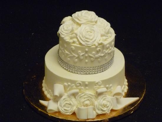 Las Vegas Custom Cakes Small Elegant Wedding