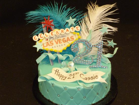 Las Vegas Custom Cakes Themed Birthday