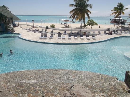 Starfish Jolly Beach Resort Main Pool Right On The