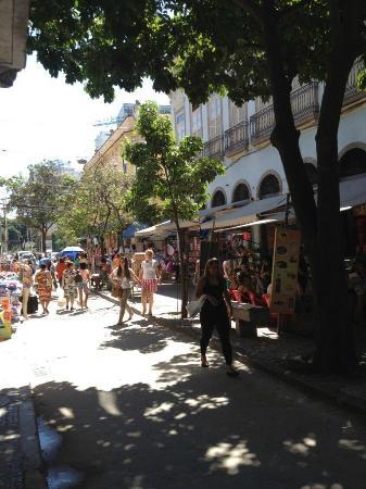 Saara Shopping District: Rua Tomé de Souza, Saara