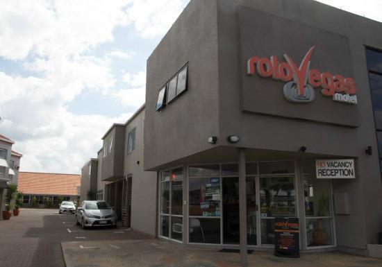 RotoVegas Motel of Rotorua: Fachada