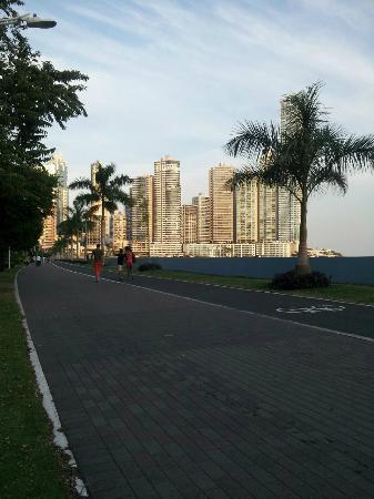 Plaza Paitilla Inn: Cinta costera