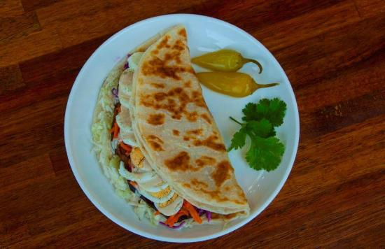 Falafel Omisi: Malawach Wrap