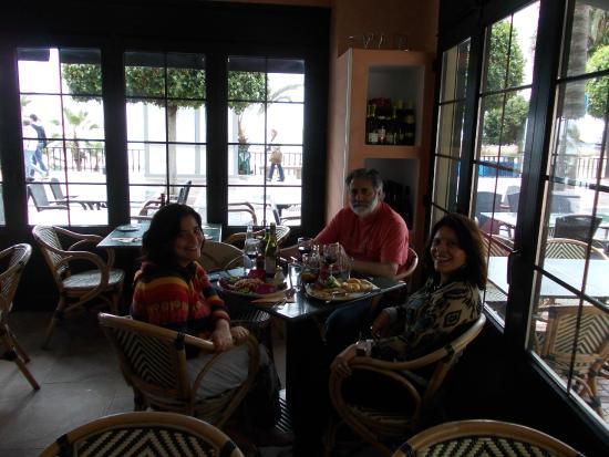 Da Fabio Ristorante Italiano: Almoço em familia no Da Fabio - Praia de Marbella
