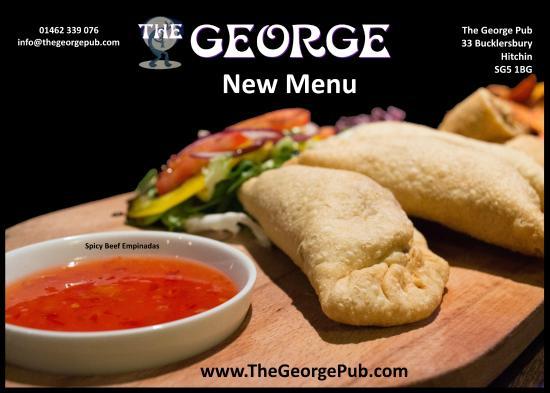 The George: New Menu