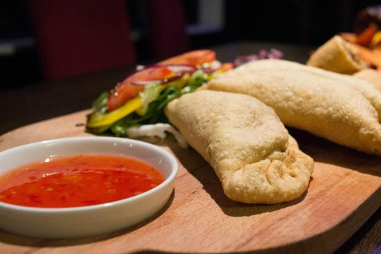 The George: Argentinian Spicy Beef Empinadas