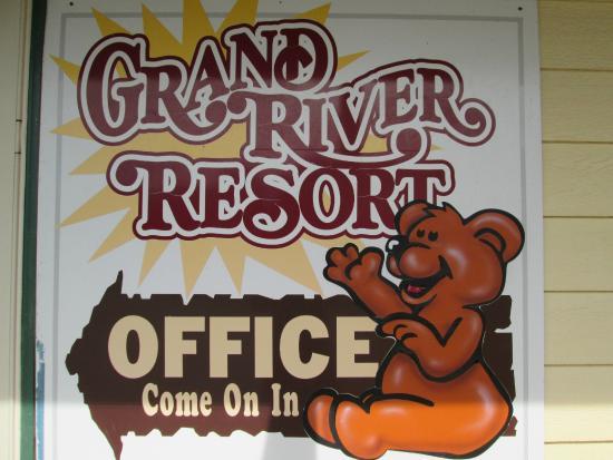 Grand River Resort: Resort is Family Friendly