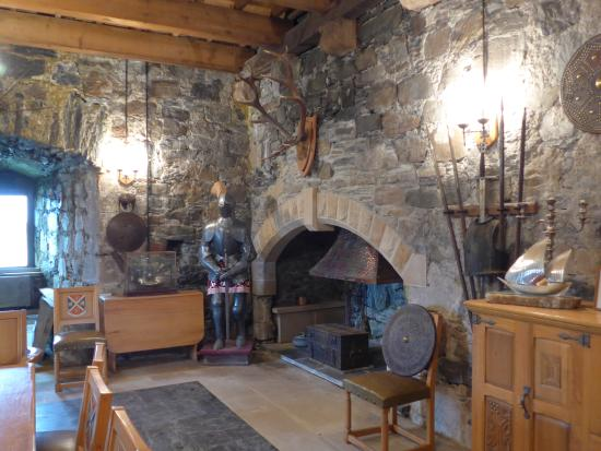 Inside The Castle Picture Of Castle Stalker Appin Tripadvisor