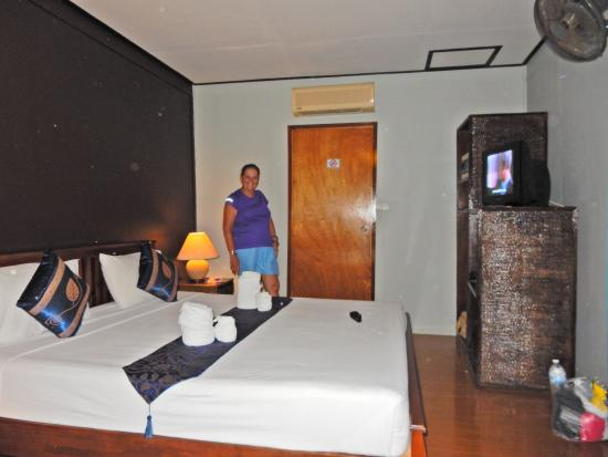 Blu' Beach Bungalows: Inside villa 11