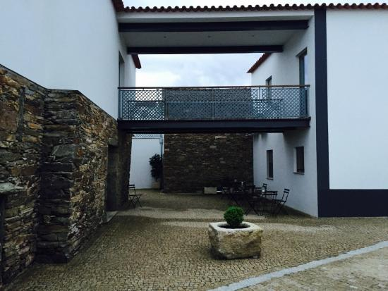 Mirandela, Portugal: Internal Patio