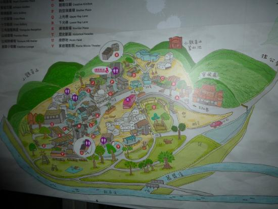 Treasure Hill: 地図