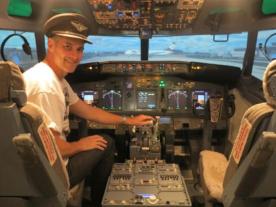 flight simulator jet