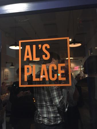 Photo of American Restaurant Al's Place at 1499 Valencia St, San Francisco, CA 94110, United States